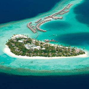 Maldives Honeymoon Packages Constance Halaveli Resort Aerial View