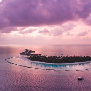 Maldives Honeymoon Packages Constance Halaveli Resort Aerial View 3