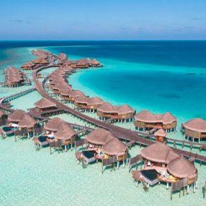 Maldives Honeymoon Packages Constance Halaveli Resort Aerial View 4