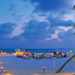 Maldives Honeymoon Packages Constance Halaveli Resort Beach Dining