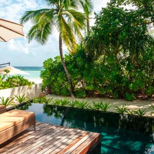 Maldives Honeymoon Packages Constance Halaveli Resort Beach Villa 1