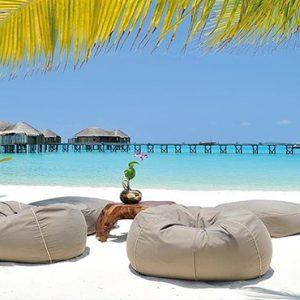 Maldives Honeymoon Packages Constance Halaveli Resort Beach Setting
