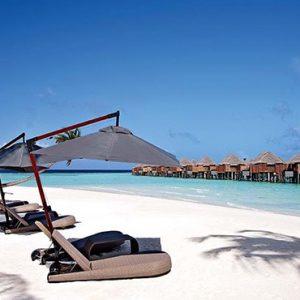 Maldives Honeymoon Packages Constance Halaveli Resort Beach Setting1