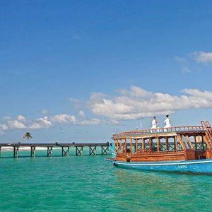 Maldives Honeymoon Packages Constance Halaveli Resort Dhoni Boat