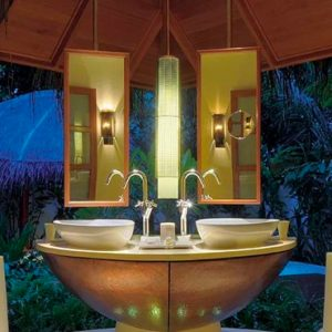 Maldives Honeymoon Packages Constance Halaveli Resort Double Storey Beach Villa Bathroom