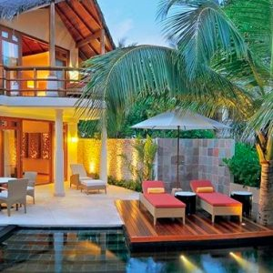 Maldives Honeymoon Packages Constance Halaveli Resort Double Storey Beach Villa Exterior 1