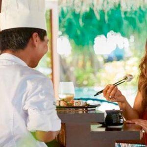 Maldives Honeymoon Packages Constance Halaveli Resort Kaika Sushi