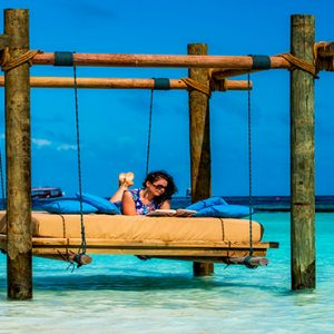 Maldives Honeymoon Packages Constance Halaveli Resort Lagoon Cabana