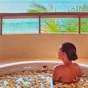 Maldives Honeymoon Packages Constance Halaveli Resort Presidential Villa Bathroom