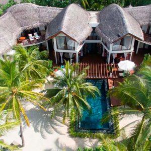 Maldives Honeymoon Packages Constance Halaveli Resort Presidential Villa Exterior