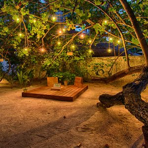 Maldives Honeymoon Packages Constance Halaveli Resort Private Dining Area