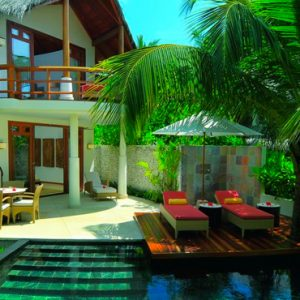 Maldives Honeymoon Packages Constance Halaveli Resort Room Day Time Exterior