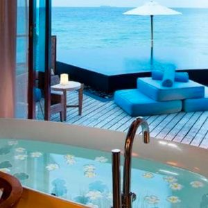 Maldives Honeymoon Packages Constance Halaveli Resort Water Villa Bathroom