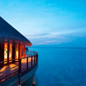 Maldives Honeymoon Packages Constance Halaveli Resort Water Villa Exterior 1