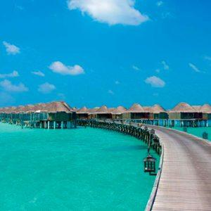 Maldives Honeymoon Packages Constance Halaveli Resort Water Villa Exterior