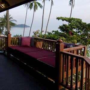 Anantara Koh Samui royal sea view suite