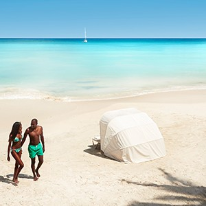 Beach 2 - Sandals Antigua Grande Resort and Spa - Luxury Antigua Honeymoons