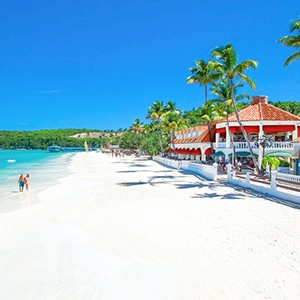 Beach - Sandals Antigua Grande Resort and Spa - Luxury Antigua Honeymoons