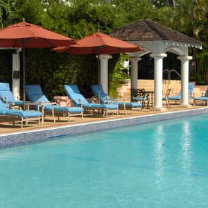 Fairmont Royal Pavilion swimming pool