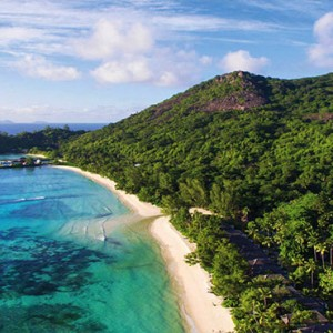 Hilton Seychelles Labriz Resort & Spa - Luxury Seychelles Honeymoon Packages - Aerial view