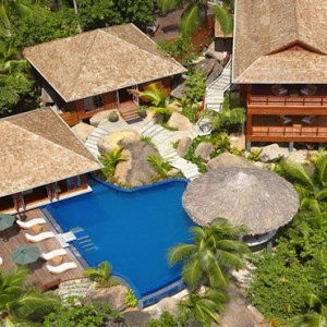 Hilton Seychelles Labriz Resort & Spa - Luxury Seychelles Honeymoon Packages - Aerial view1
