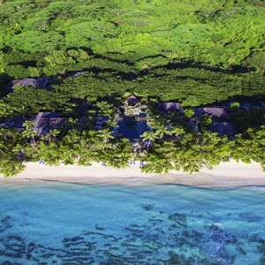 Hilton Seychelles Labriz Resort & Spa - Luxury Seychelles Honeymoon Packages - Aerial view2