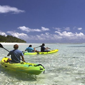 Hilton Seychelles Labriz Resort & Spa - Luxury Seychelles Honeymoon Packages - Kayaking