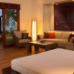 Hilton Seychelles Labriz Resort & Spa - Luxury Seychelles Honeymoon Packages - King Beachfront Villa Interior