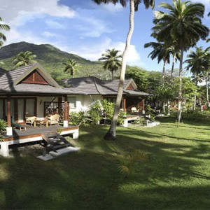 Hilton Seychelles Labriz Resort & Spa - Luxury Seychelles Honeymoon Packages - King Garden villa exterior