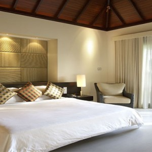 Hilton Seychelles Labriz Resort & Spa - Luxury Seychelles Honeymoon Packages - King Garden villa interior