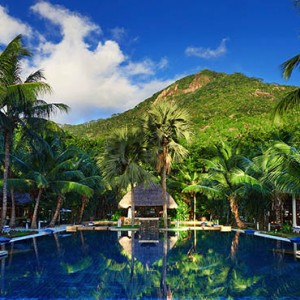 Hilton Seychelles Labriz Resort & Spa - Luxury Seychelles Honeymoon Packages - Main pool