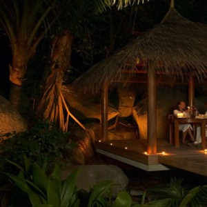 Hilton Seychelles Labriz Resort & Spa - Luxury Seychelles Honeymoon Packages - Private dining