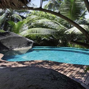 Hilton Seychelles Labriz Resort & Spa - Luxury Seychelles Honeymoon Packages - spa pool