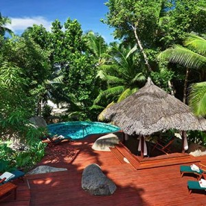 Hilton Seychelles Labriz Resort & Spa - Luxury Seychelles Honeymoon Packages - spa pool exterior1