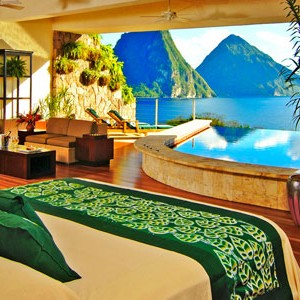 Jade Mountain honeymoon