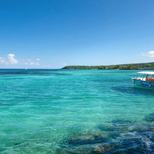 Jamaica Honeymoon Packages Sandals Ochi Beach Resort Boat View
