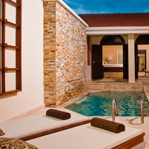 Jamaica Honeymoon Packages Sandals Ochi Beach Resort Butler Village Honeymoon Romeo And Juliet One Bedroom Villa Suite With Private Pool Sanctuary 6