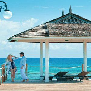 Jamaica Honeymoon Packages Sandals Ochi Beach Resort Couple On Jetty
