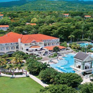 Jamaica Honeymoon Packages Sandals Ochi Beach Resort Hotel Aerial View