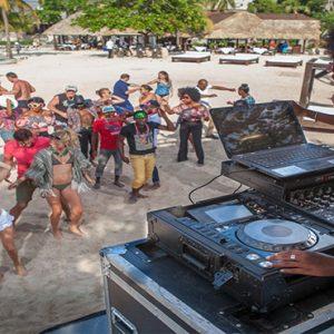 Jamaica Honeymoon Packages Sandals Ochi Beach Resort Music Entertainment