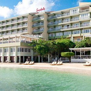 Jamaica Honeymoon Packages Sandals Ochi Beach Resort Riviera Honeymoon Beachfront Club Level 3