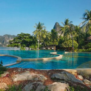 Krabi Honeymoon Packages Rayavadee Krabi Pool 2