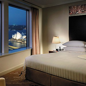 Shangri-La Sydney - bedroom