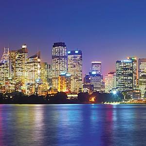 Shangri-La Sydney - sydney night