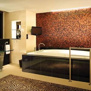 Thailand Honeymoon Packages Banyan Tree Bangkok Presidential Suite Bathroom