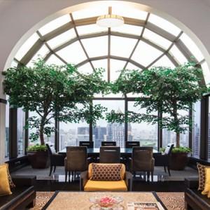 Thailand Honeymoon Packages Banyan Tree Bangkok Presidential Suite Living Area