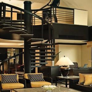 Thailand Honeymoon Packages Banyan Tree Bangkok Presidential Suite Staircase