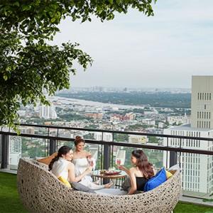 Thailand Honeymoon Packages Banyan Tree Bangkok Saffron Sky Bar