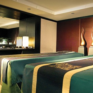 Thailand Honeymoon Packages Banyan Tree Bangkok Spa Sanctuary Suite Spa Treatment Room