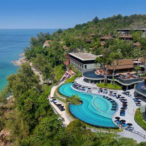 Thailand Honeymoon Packages Pullman Phuket Arcadia Naithon Beach Aerial View